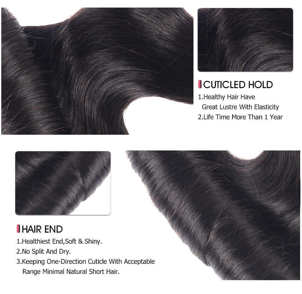 Curly Weave 4 Bundles Virgin Human Hair Weave