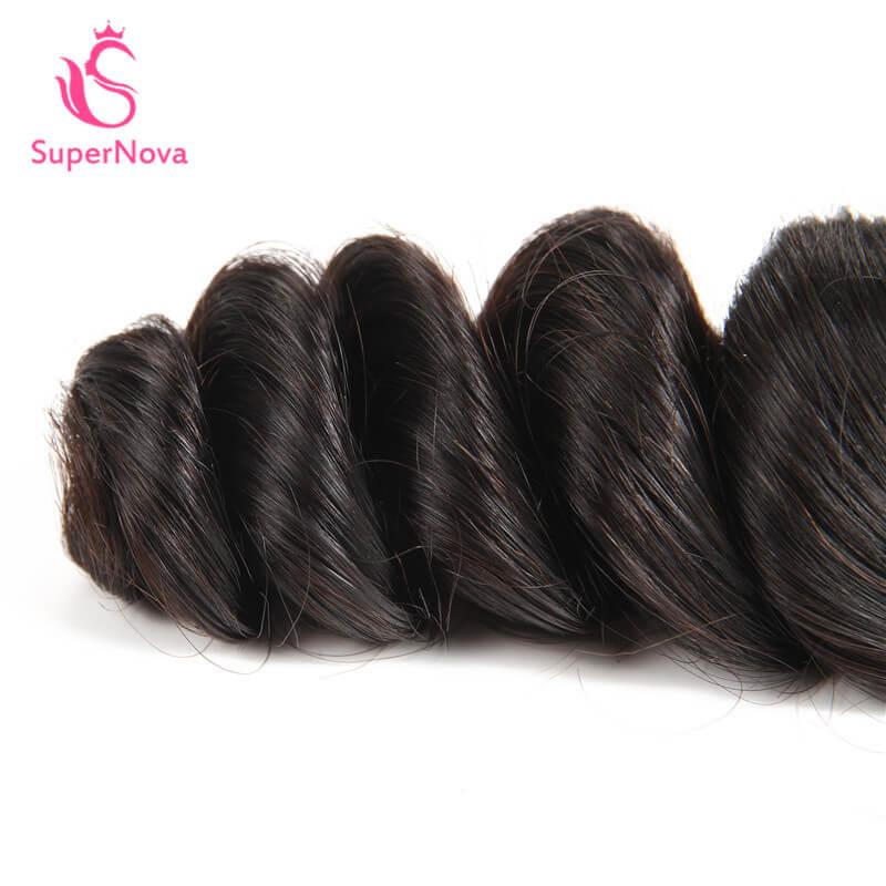 Brazilian Loose Wave Hair 4 Bundles Virgin Hair Brazilian Hair For Sale