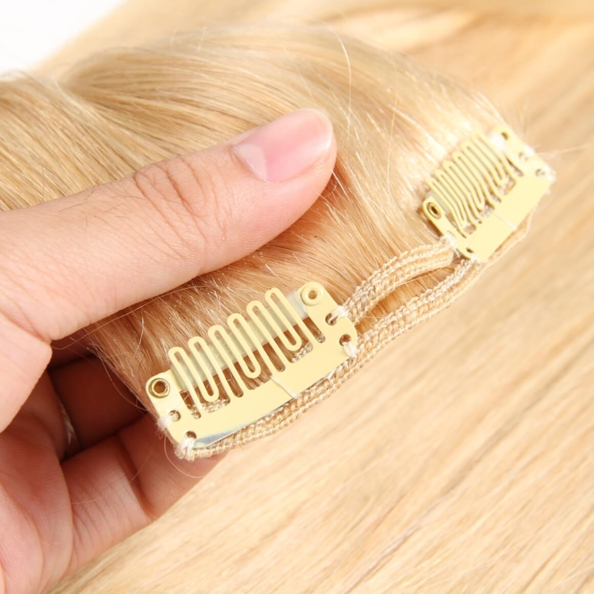 Clip In Hair Extensions Light Color Clip In Extensions