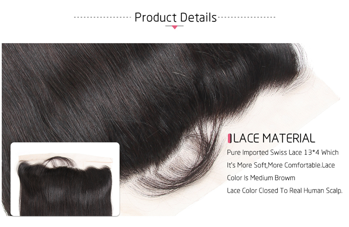 lace frontal closure with baby hair